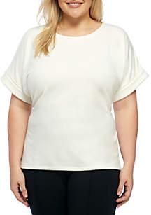 Plus Size Dolman Sleeve Tunic