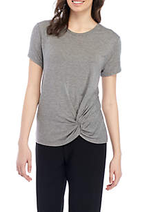 Knot Front Tee