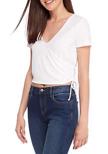 V-Neck Knit Shirt