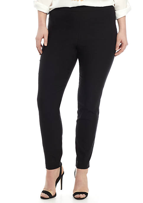 Madison Plus Size Pull On Pant
