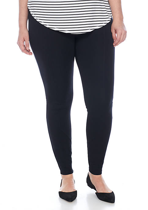 Madison Plus Size Ponte Leggings