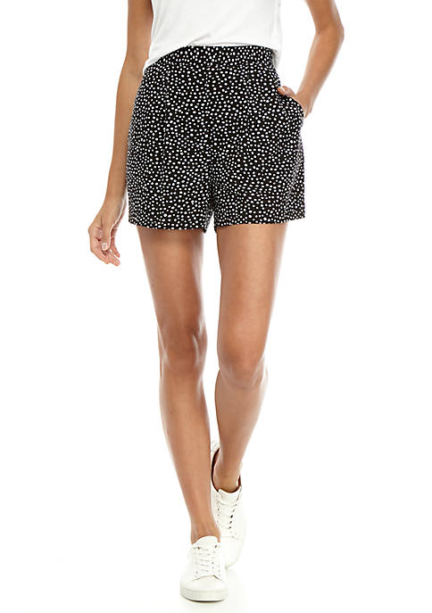 Madison Dot Print Soft Shorts