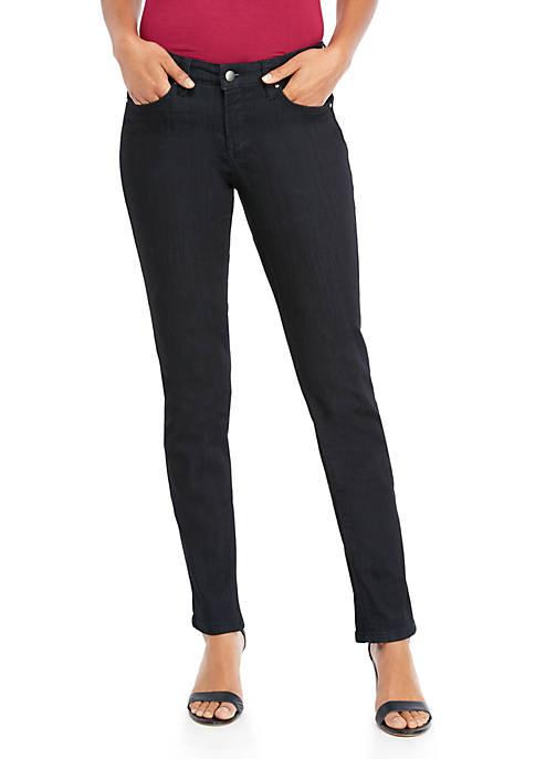 Full Length Straight Jeans