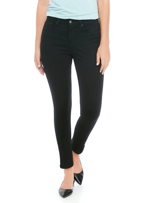 Petite High Rise Skinny Ankle Jeans