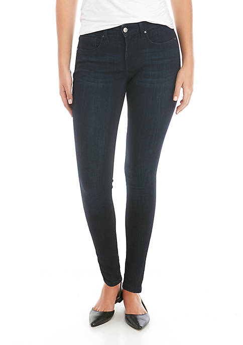 THE LIMITED Womens Mid Rise Full Length Skinny