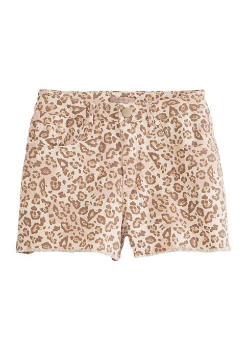 Destructed Mini Cuff Shorts