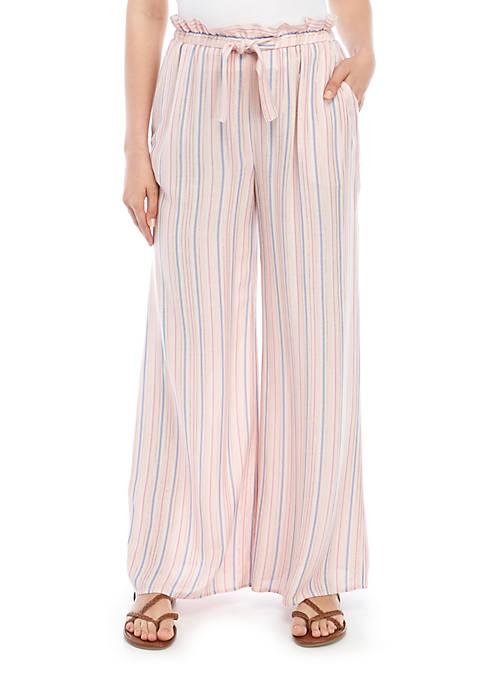 Yarn Dye Stripe Pants