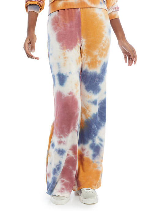 Juniors Butter Terry Flare Pants