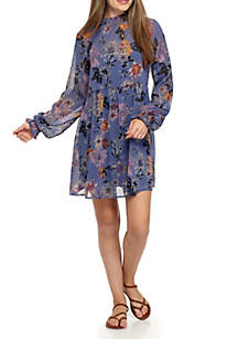 Printed Yoryu Dress