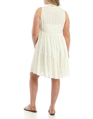 Wonderly Plus Size Sleeveless Tiered Dress   belk