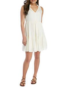 18df3db8ebe ... Wonderly Sleeveless Tiered Dress