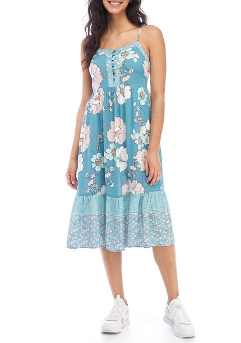 Juniors Sleeveless Maxi Dress