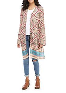 Wonderly Kimono with Tassel Sleeves