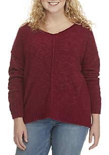 Wonderly Plus Size V-Neck Sweater