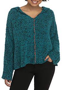 Whipstitch Popcorn Sweater