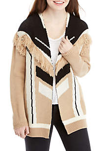 Wonderly Fringe Cardigan