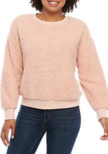 Plus Size Button Front Thermal Shirt