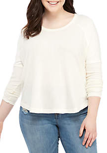 Wonderly Plus Size Long Sleeve Thermal Top