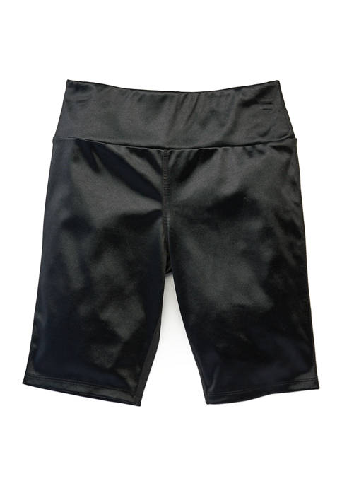 Shiny Biker Shorts
