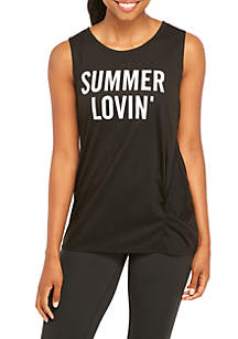Summer Lovin' Graphic Tank