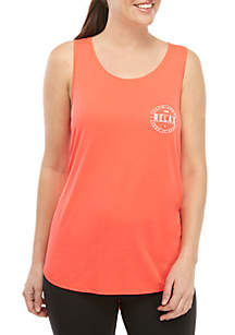 ZELOS Muscle Graphic Tank Top