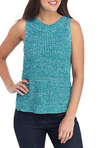 Cupio Marled Sweater Tank