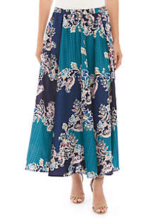 Cupio Printed Skirt