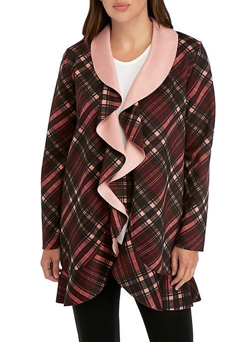Cupio Printed Scuba Jacket