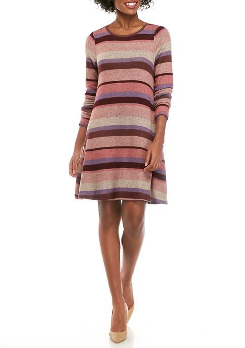 Cupio Womens Dream Soft Stripe Dress