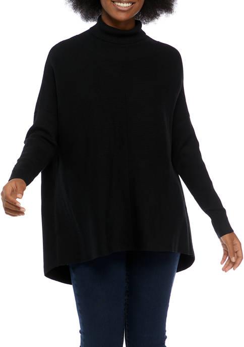 Cupio Juniors Ribbed Tunic Sweater