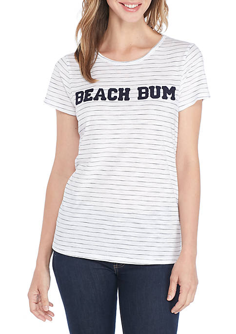 cupio blush Beach Bum Knit Top