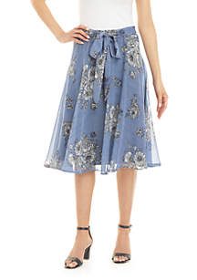 Cupio Flower Tie Skirt