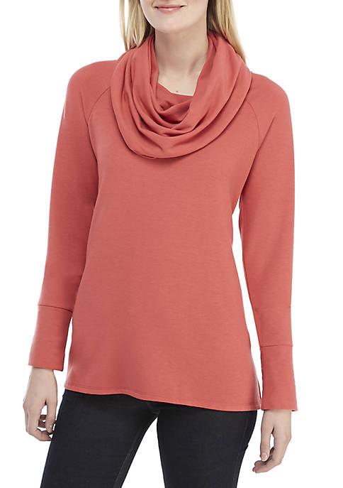 Cupio Cowl Neck Sweater