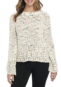 Popcorn Chenille Sweater