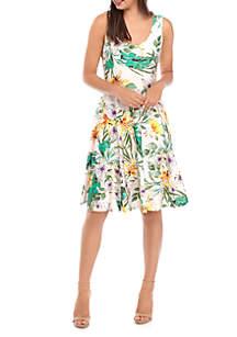 Cupio Sleeveless Bow Back Dress