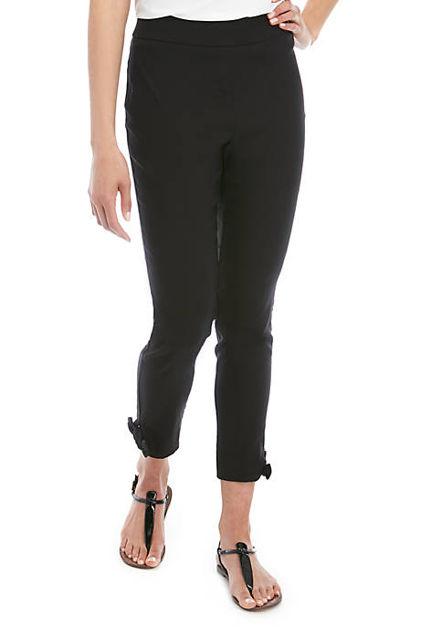 Cupio Dress Pants with Ankle Side Ties