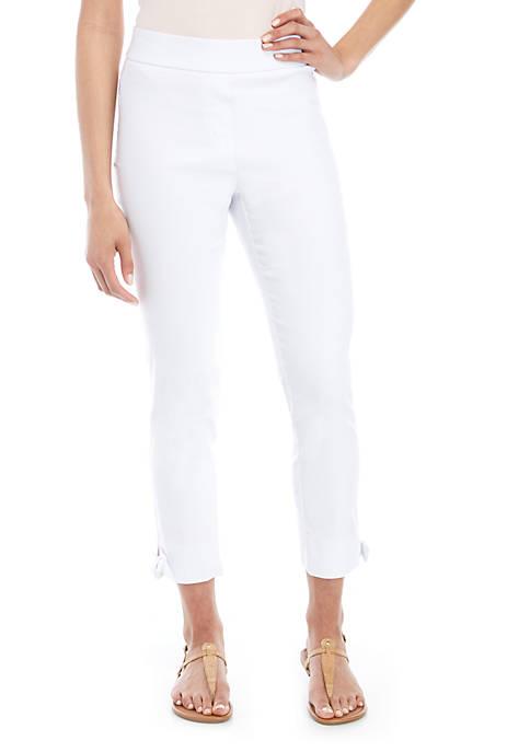 Cupio Dress Pants with Ankle Side Ties