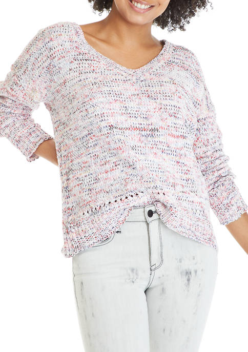 Womens Drop Shoulder Sweater