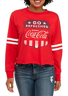Long Sleeve Coke Armband Top