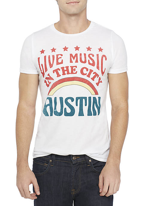 Live Music In The City Austin Tee