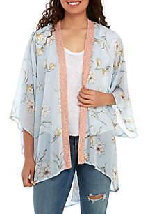 Chance & Destiny Twin Print Kimono