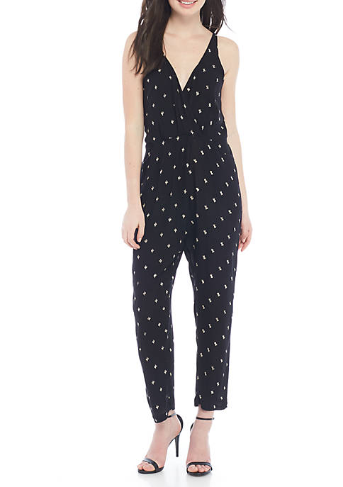 Symbology Clothing Cactus Printed Jumpsuit