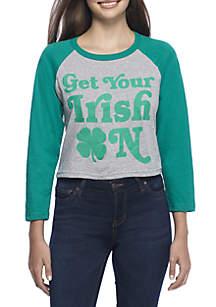 Get Your Irish On Raglan Tee