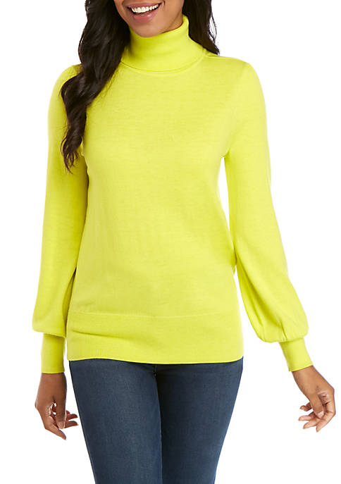 Crown & Ivy™ Long Sleeve Cashmere Sweater