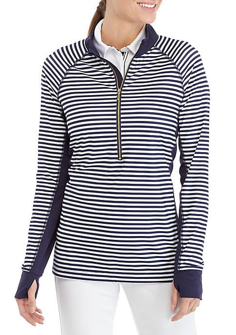 Crown & Ivy™ 1/2 Zip Pullover Jacket