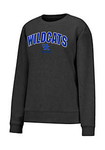 Kentucky Wildcats Vintage Boucle Crew Neck Pullover