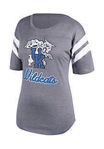 Kentucky Wildcats Stripe Elbow Sleeve Tee