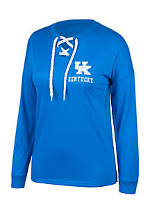 Kentucky Wildcats Oversized Laced Tee