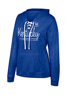 Kentucky Wildcats Sea-Side Lace Up Hoodie
