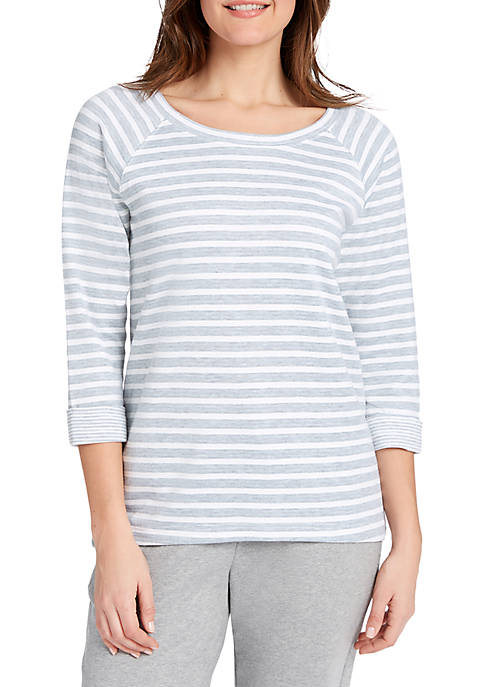 LIFE WORX BY GLORIA VANDERBILT Kerstin Double Stripe